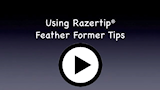Play feather former video